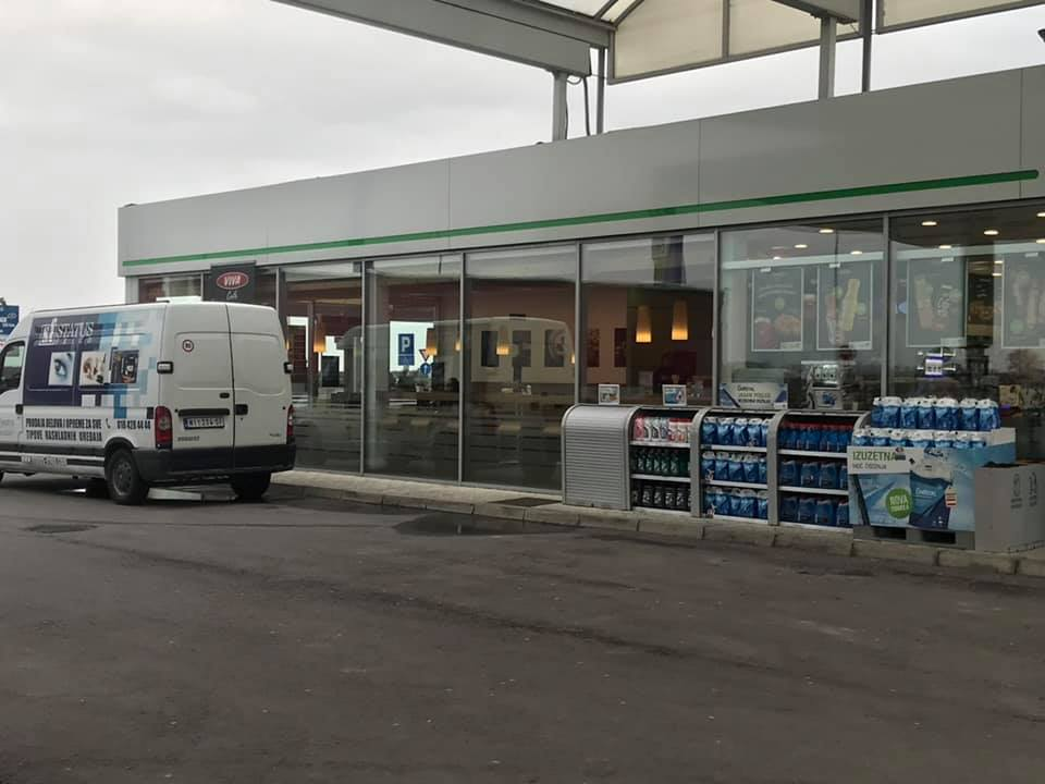 Rashladne vitrine na OMV benzinskim stanicama Beograd - 3